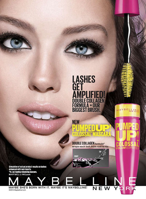 Mascara Maybelline Pumped Up Colossal Waterproof 216