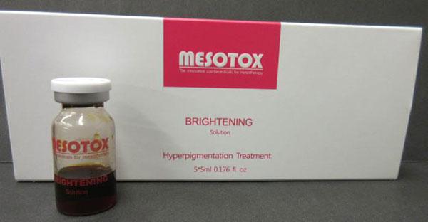 Tinh chất Mesotox Brightening Solution Trị Thâm Nám, Tàn Nhang
