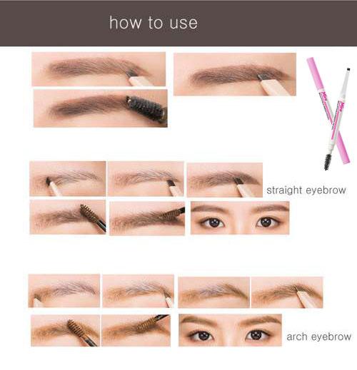 Chì Kẻ Chân Mày Mira Sculpting Eyebrow Pencil