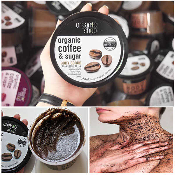 Tẩy Tế Bào Chết Organic Shop Coffee & Sugar Body Scrub