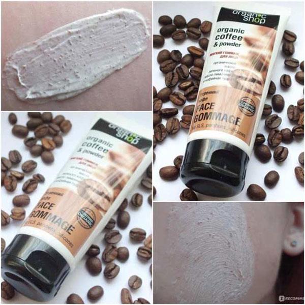  Tẩy Tế Bào Chết Organic Coffee & Powder Face Gommage 75g