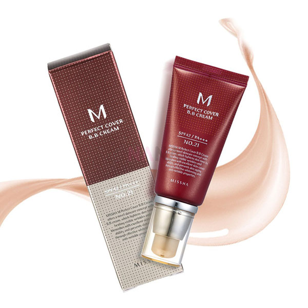 Kem BB Missha M Perfect Cover BB Cream SPF42/PA++