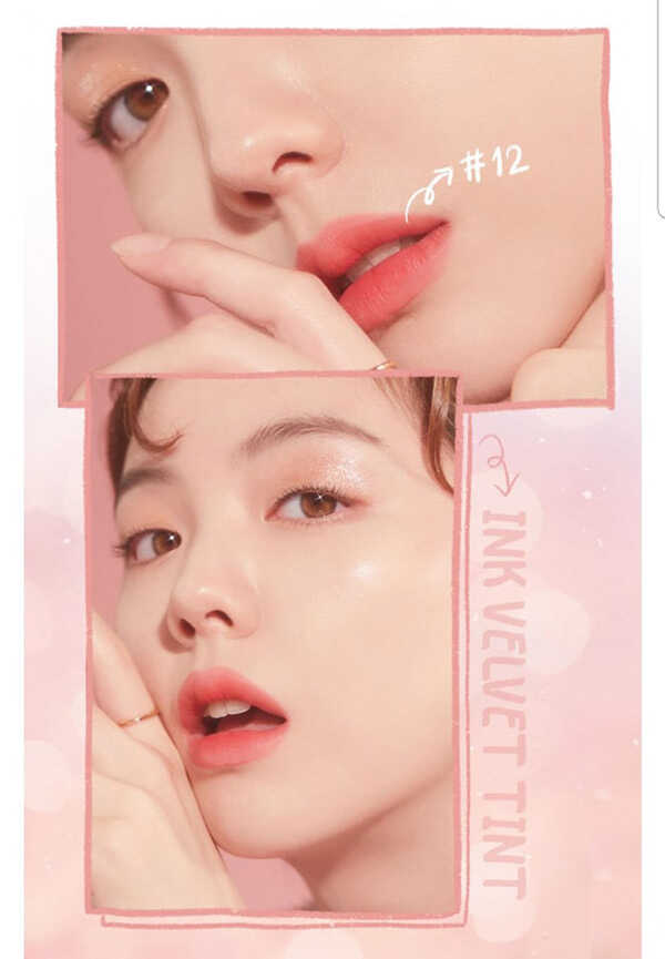 Son Kem Peripera Lip Tint Ink Velvet Tint Mood Blank Collection