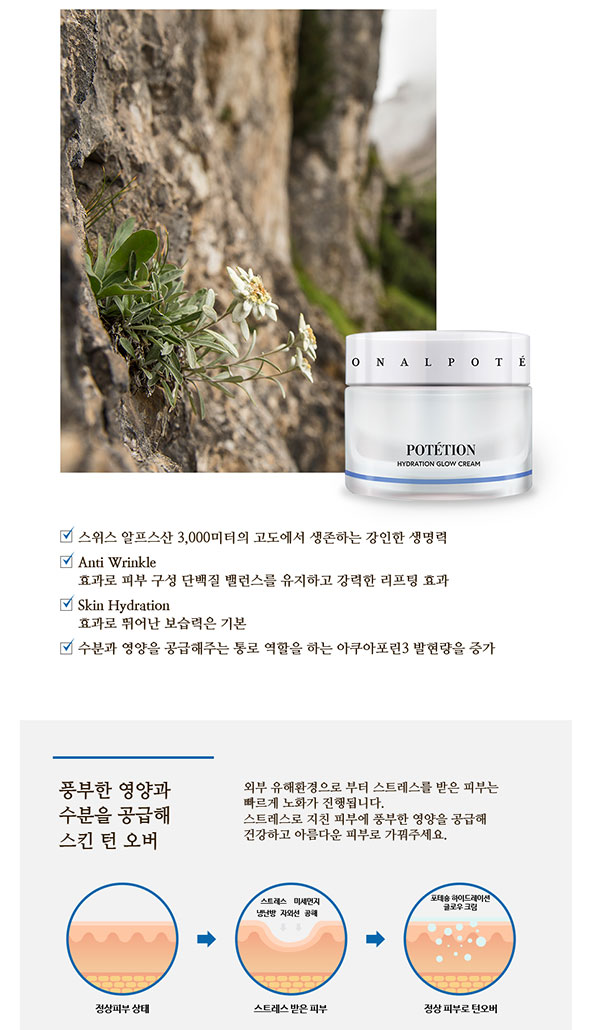 Kem Dưỡng Da Potetion Hydration Glow Cream