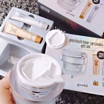 Set Dưỡng Da Goodal Premium Tone Up Cream Gift Set