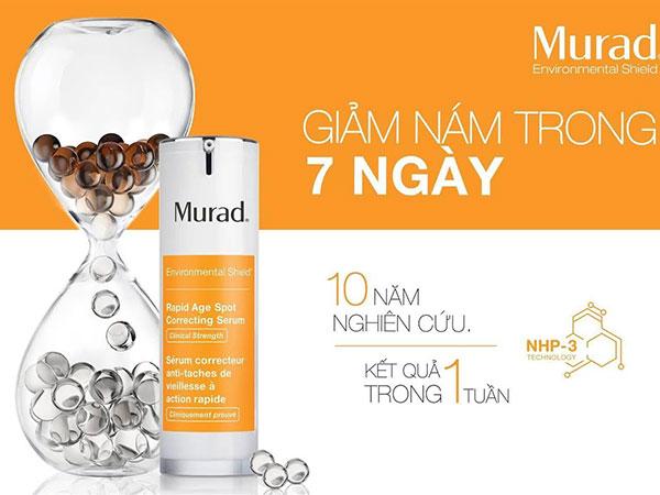 Serum Murad Rapid Age Spot Correcting 30ml Trị Nám, Tàn Nhang