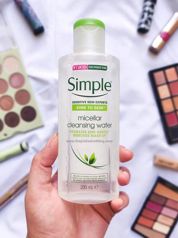 Nước Tẩy Trang Simple Kind to Skin Micellar Cleansing Water 200ml