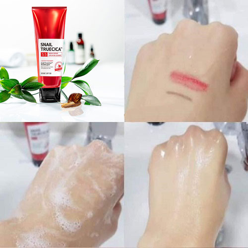 Sữa Rửa Mặt Snail Truecica Miracle Repair Low Ph Gel Cleanser