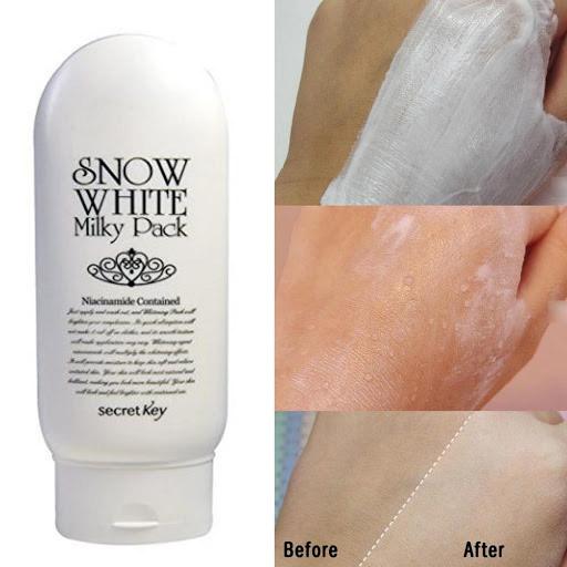 Kem Dưỡng Trắng Da Snow White Milky Pack