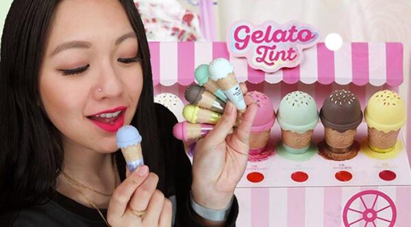 Son Tint Ốc Quế The Face Shop Gelato Tint