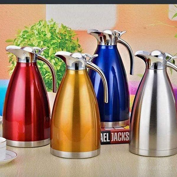 Bình Inox Stainless Steel Coffee Pot Cách Nhiệt 3 Lớp