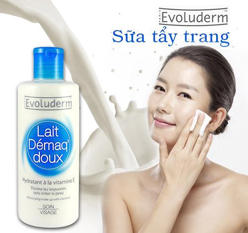 Sữa tẩy trang Evoluderm Lait Demaq Doux 250ml