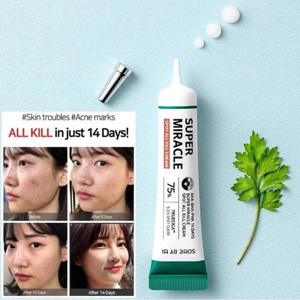 Kem Trị Mụn Some By Mi Super Miracle Spot All Kill Cream