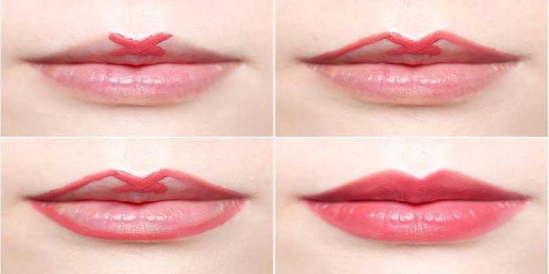Kết quả hình ảnh cho trang điểm môi của bạn