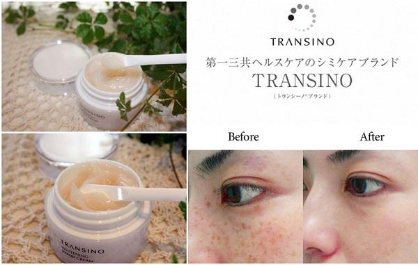 Kem Dưỡng Tái Tạo Da Transino Whitening Repair Cream