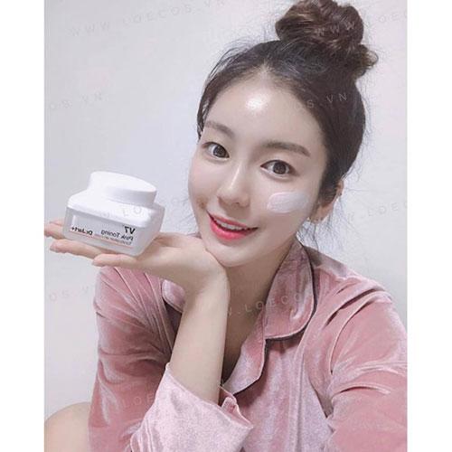 Kem Dưỡng Trắng Hồng Dr.Jart+ V7 Pink Toning Light Up 15ml
