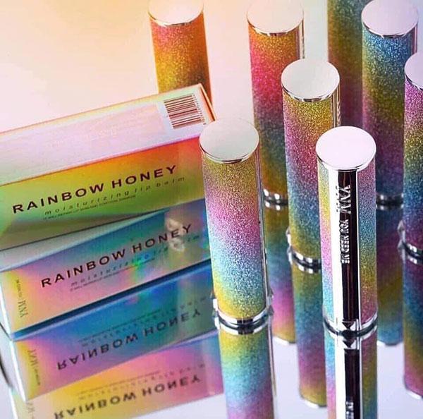 Son Dưỡng Môi YNM Rainbow Honey Lip Balm Đổi Màu
