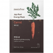 Mặt nạ Innisfree Jeju Root Eneneergy Mask - Carrot