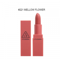 Son lì 3CE Mood Recipe Matte Lip Color #221 Mellow Flower