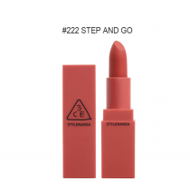 Son lì 3CE Mood Recipe Matte Lip Color #222 Step And Go