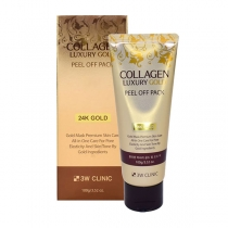 Mặt Nạ Lột Mụn Collagen Luxury Gold Peel Off Pack