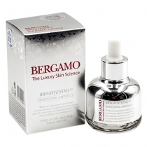 Serum Bergamo The Luxury Skin Science - Brightening Whitening Ampoule 30ml