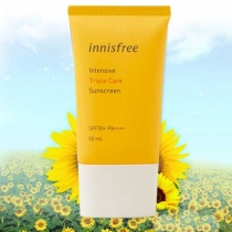 Kem Chống Nắng Innisfree Intensive Triple Care Sunscreen SPF50+ Pa++++ 50ml