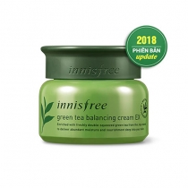 Kem Dưỡng Da Innisfree Green Tea Balancing Cream EX