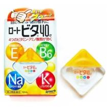 Thuốc Nhỏ Mắt Rohto Nhật Bản Vita 40 12ml Màu Vàng