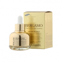 Serum Bergamo The Luxury Skin Science - Premium Gold 30ml