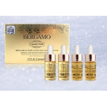 Serum Bergamo Luxury Gold & Collagen Tinh Thể Vàng